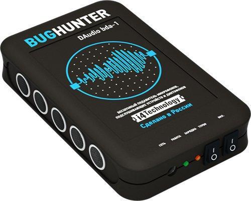 Подавитель прослушки BugHunter DAudio bda-1 выглядит очень стильно, его дизайн продуман до мелочей