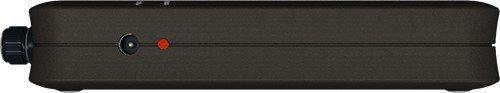 """На правой боковой стороне блокиратора микрофонов шпионских устройств """"BugHunter DAudio bda-2 Voices"""" расположены гнездо для подключения зарядного устройства и светодиод контроля процесса зарядки"""