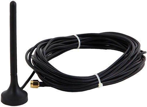 """Внешняя антенна усилителя GSM сигнала """"MOBI-900 Mini"""" оснащена достаточно длинным 7-метровым ВЧ-кабелем, что дает свободу в выборе места ее установки"""