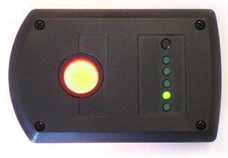 В данном случае детектор скрытых камер BugHunter Dvideo работает во 2-ом режиме