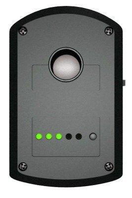 Светодиоды для индикации режимов работы и уровня заряда аккумулятора обнаружителя