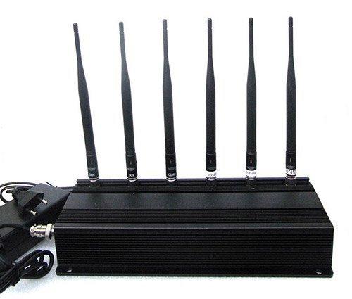 """Шесть передатчиков и антенн подавителя """"BugHunter X6"""" обеспечивают надежное глушение сигнала в широком диапазоне частот"""
