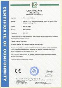 Высокое качество и безопасность детектора жучков Защита 1207i подтверждены наличием сертификата соответствия европейским стандартам CE