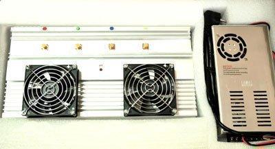 """Из-за высокой мощности подавитель """"BlackHunter X-10 Professional"""" и его сетевой адаптер оборудованы охлаждающими кулерами"""
