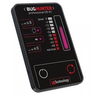 """Сверхтонкий детектор жучков и шпионского оборудования BugHunter professional CR-1 """"Карточка"""""""